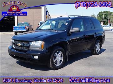 2009 Chevrolet TrailBlazer for sale at Credit King Auto Sales in Wichita KS