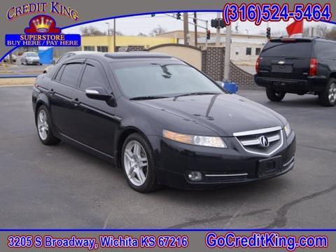 2007 Acura TL for sale at Credit King Auto Sales in Wichita KS