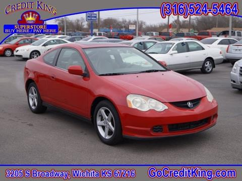 2004 Acura RSX for sale at Credit King Auto Sales in Wichita KS