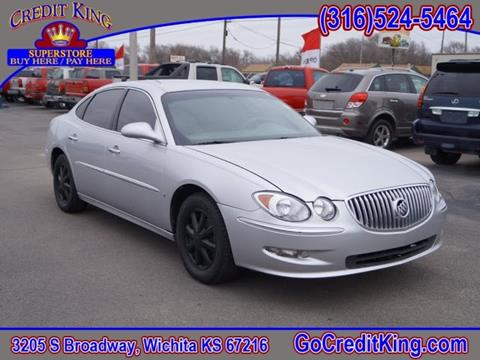 2009 Buick LaCrosse for sale at Credit King Auto Sales in Wichita KS