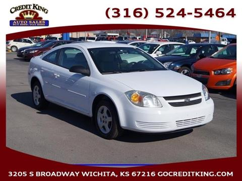 2007 Chevrolet Cobalt for sale at Credit King Auto Sales in Wichita KS
