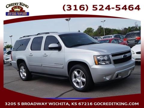 2011 Chevrolet Suburban for sale at Credit King Auto Sales in Wichita KS