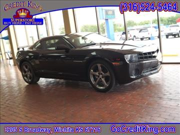 2011 Chevrolet Camaro for sale at Credit King Auto Sales in Wichita KS