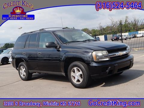 2006 Chevrolet TrailBlazer for sale at Credit King Auto Sales in Wichita KS