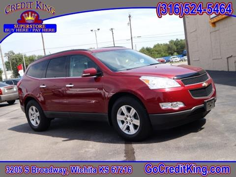 2010 Chevrolet Traverse for sale at Credit King Auto Sales in Wichita KS