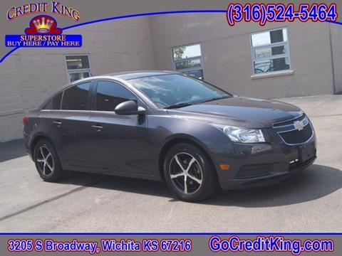 2011 Chevrolet Cruze for sale at Credit King Auto Sales in Wichita KS