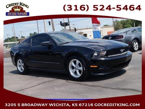 2011 Ford Mustang for sale at Credit King Auto Sales in Wichita KS