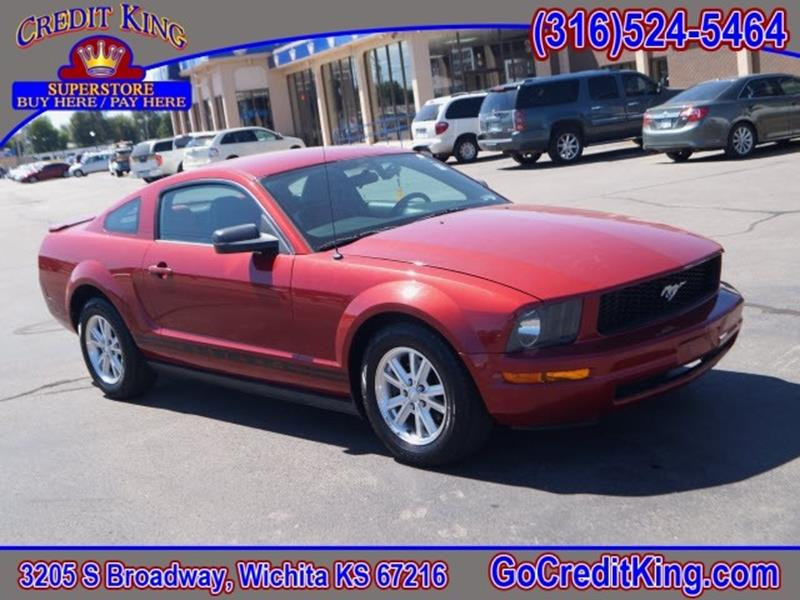 2008 Ford Mustang for sale at Credit King Auto Sales in Wichita KS