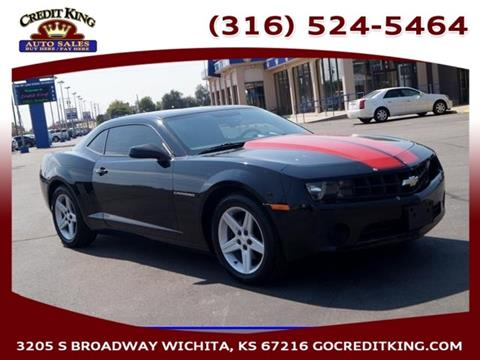 2013 Chevrolet Camaro for sale at Credit King Auto Sales in Wichita KS