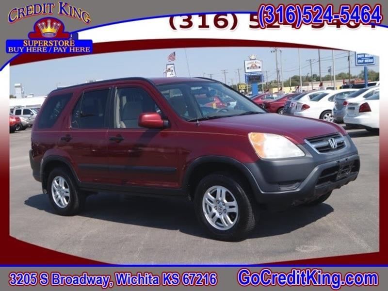 2004 Honda CR-V for sale at Credit King Auto Sales in Wichita KS