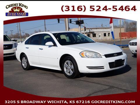 2010 Chevrolet Impala for sale at Credit King Auto Sales in Wichita KS