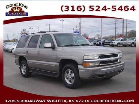 2001 Chevrolet Tahoe For Sale In Wichita KS