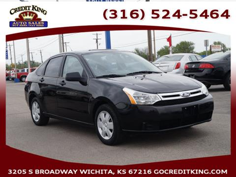 2011 Ford Focus for sale at Credit King Auto Sales in Wichita KS
