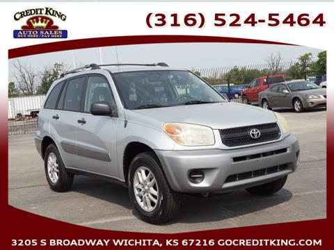 2005 Toyota RAV4 for sale at Credit King Auto Sales in Wichita KS
