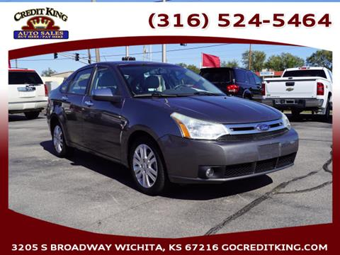 2009 Ford Focus for sale at Credit King Auto Sales in Wichita KS