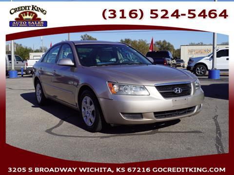2008 Hyundai Sonata for sale at Credit King Auto Sales in Wichita KS