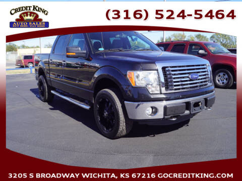 2011 Ford F-150 for sale at Credit King Auto Sales in Wichita KS