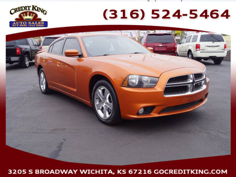 2011 Dodge Charger for sale at Credit King Auto Sales in Wichita KS