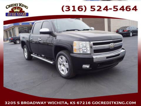 2008 Chevrolet Silverado 1500 for sale at Credit King Auto Sales in Wichita KS
