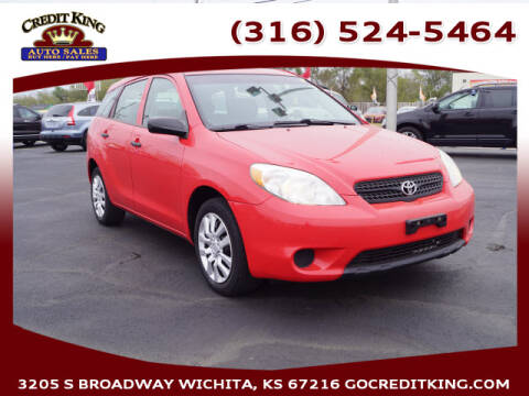 2008 Toyota Matrix for sale at Credit King Auto Sales in Wichita KS