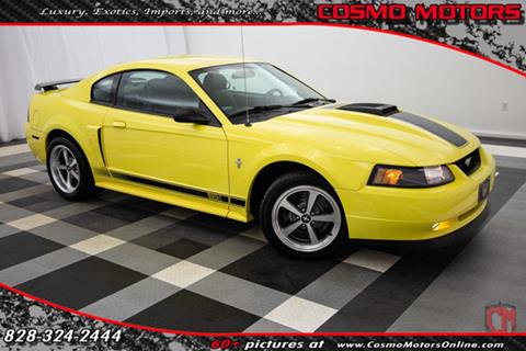 2003 ford mustang for sale in north carolina carsforsale for Cosmo motors hickory north carolina