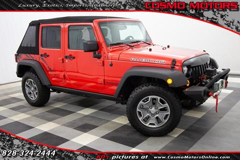 2017 Jeep Wrangler Unlimited for sale in Hickory, NC