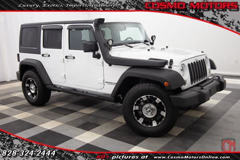 2011 Jeep Wrangler Unlimited for sale in Hickory, NC