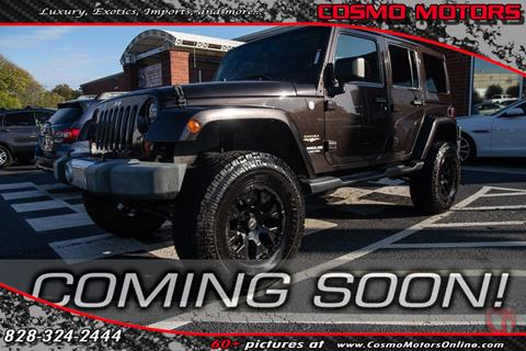 2013 Jeep Wrangler Unlimited for sale in Hickory, NC