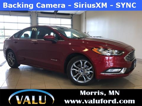 2017 Ford Fusion Hybrid for sale in Morris, MN
