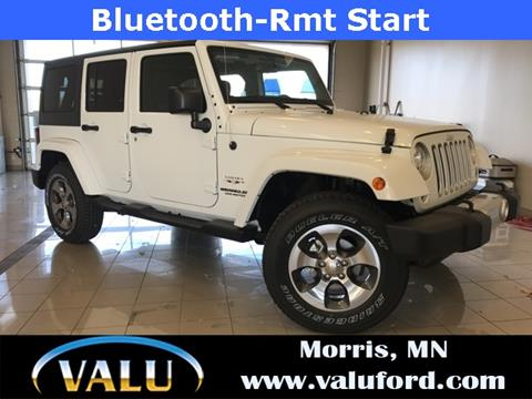 2017 Jeep Wrangler Unlimited for sale in Morris, MN