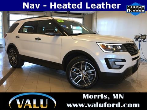 2017 Ford Explorer for sale in Morris, MN