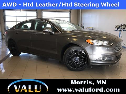 2016 Ford Fusion for sale in Morris, MN