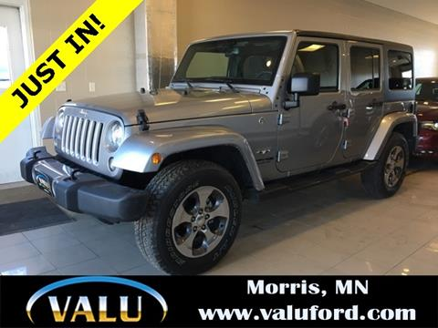 2018 Jeep Wrangler Unlimited for sale in Morris, MN