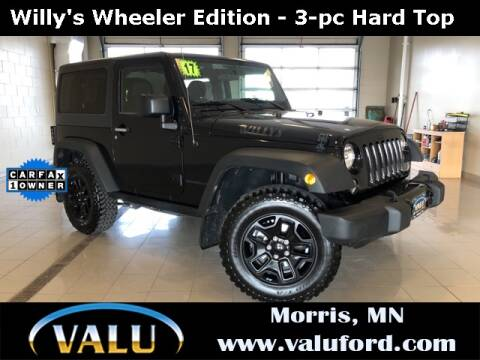 2017 Jeep Wrangler for sale in Morris, MN