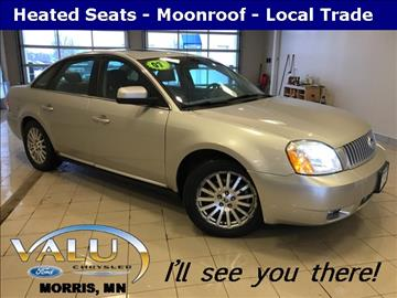 2007 Mercury Montego for sale in Morris, MN