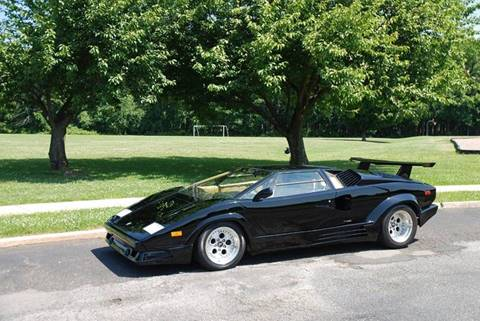 1989 Lamborghini Countach for sale at Professional Automobile Exchange in Bensalem PA