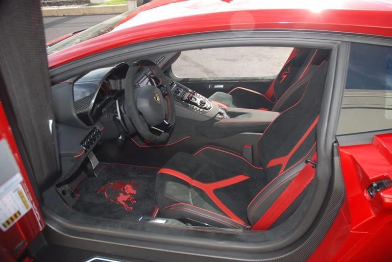 2016 Lamborghini Aventador AWD LP 750-4 SV 2dr Coupe - Bensalem PA