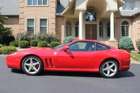 2002 Ferrari 575M for sale at Professional Automobile Exchange in Bensalem PA
