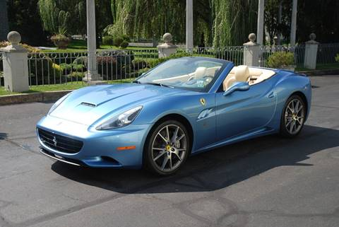 2010 Ferrari California for sale at Professional Automobile Exchange in Bensalem PA