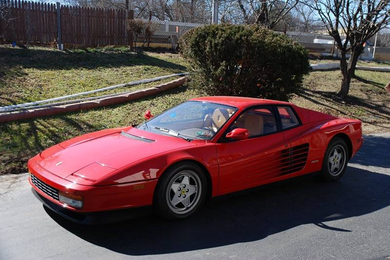 1988 ferrari testarossa in bensalem pa professional automobile exchange. Black Bedroom Furniture Sets. Home Design Ideas