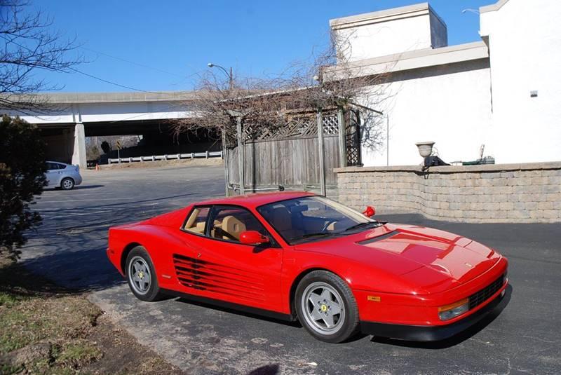 1988 Ferrari Testarossa  - Bensalem PA