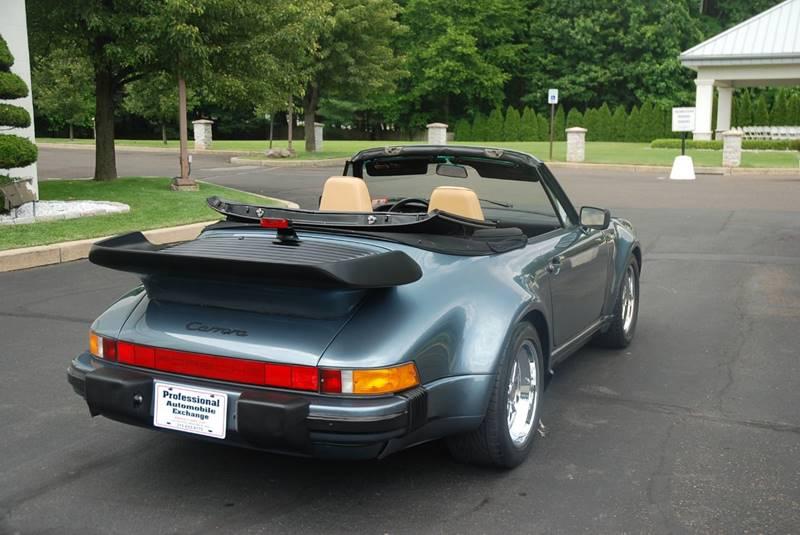 1987 Porsche 911 Carrera 2dr Convertible - Bensalem PA