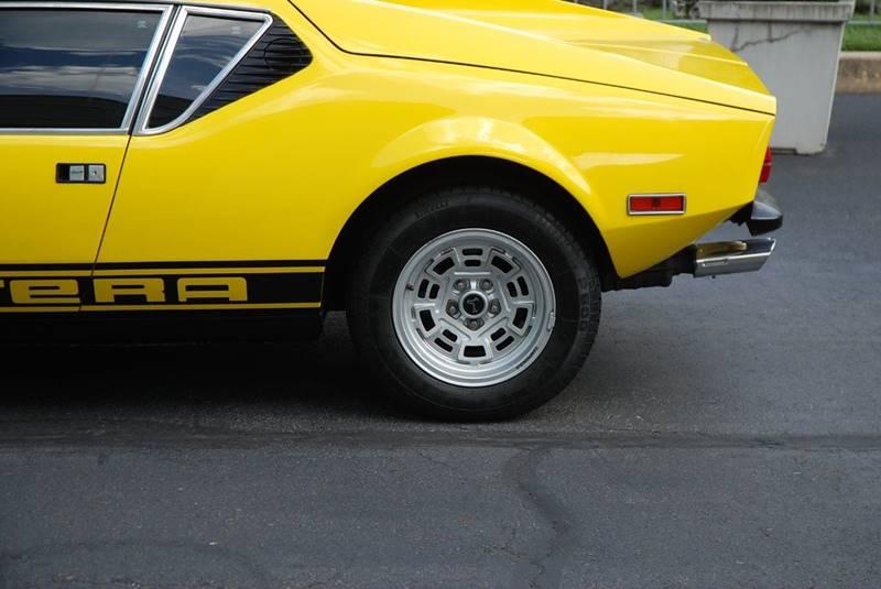 1974 De Tomaso Pantera for sale at Professional Automobile Exchange in Bensalem PA