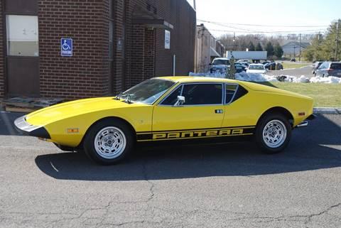 1974 De Tomaso Pantera for sale in Bensalem, PA