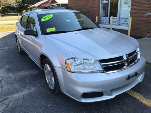 2012 Dodge Avenger for sale in Marlborough, MA