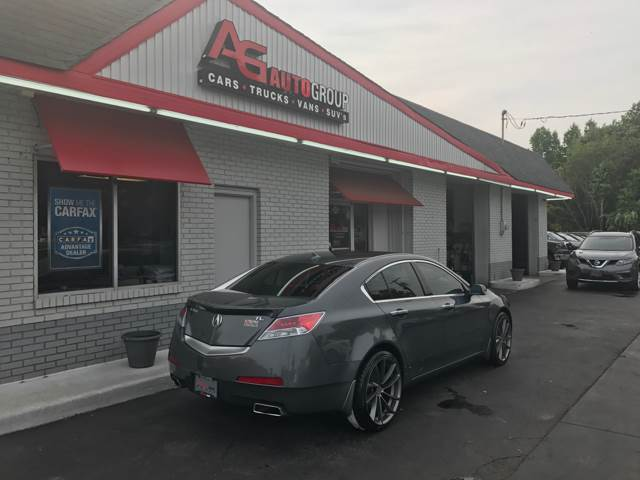 2011 Acura TL 4dr Sedan w/Technology Package - Vineland NJ