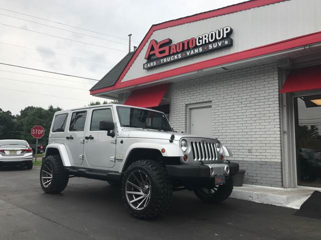 2011 Jeep Wrangler Unlimited 4x4 Sahara 4dr SUV - Vineland NJ