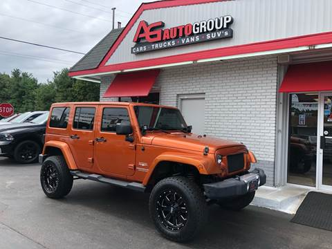 2011 Jeep Wrangler Unlimited for sale at AG AUTOGROUP in Vineland NJ