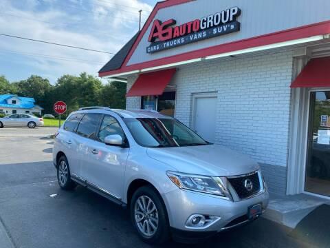 2014 Nissan Pathfinder for sale at AG AUTOGROUP in Vineland NJ