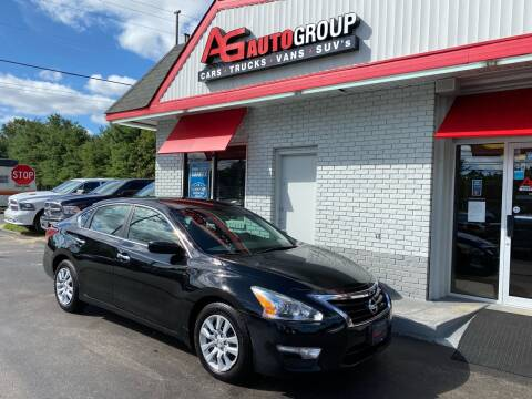 2013 Nissan Altima for sale at AG AUTOGROUP in Vineland NJ